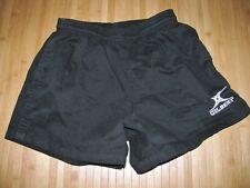 Gilbert Shorts Rugby Uniform Size Small Cotton Black Little Bit Worn & Faded