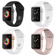 Apple Watch Series 1 42mm GPS Aluminum Smartwatch Space Gray Gold Silver Rose