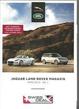 Catalogue brochure Katalog Prospekt JAGUAR LAND ROVER 44 PAGES ANNEE 2015