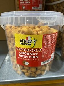 Chin Chin coconut flavour  Africa finest 200g x 3