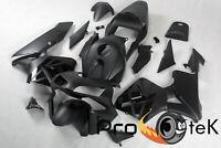 2003-2004 Honda CBR600RR Matte Black Injection ABS Plastic Fairings Bodywork
