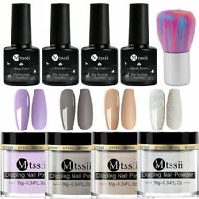 9Pcs/set MTSSII Dipping Powder Glitter Dip System Liquid Nail Starter Kits #3