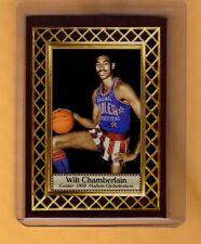 Wilt Chamberlain '59 Harlem Grobetrotters, Fan Club serial numbered /300