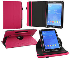 Universal Stylish (7 /8 inch) 360° Rotating Wallet Case Cover with Stylus Pen