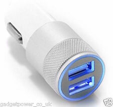 DUAL USB CHARGER ADAPTOR HIGH POWER FOR IPAD TABLET CAR TRUCK ACCESSORY 12V 24V