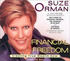 Suze Orman Financial Freedom : Creating True Wealth Now (2002, 4 CDs)