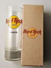 "New in Box - Hard Rock Cafe PARIS Shot Glass - 4"""