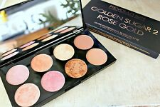 Makeup Revolution Blushes Highlighter Bronzer Palette GOLDEN SUGAR 2 Rose Gold