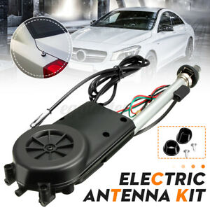 12V Universell Auto Antenne Elektrisch Radio Automatik Booster Power Antenne B