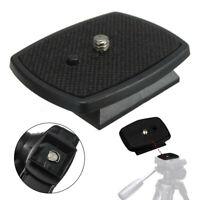 Tripod Quick Release Plate Screw Adapter Mount Head For DSLR SLR Digital  A*