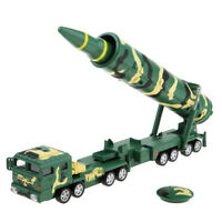 1/64 Diecast Model Toy Chinese DF-31A Intercontinental Missile Launch Truck