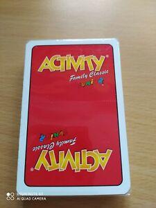 BSH @ /% ACTIVITY Karten Family JUNIOR  Zusatzkarten 1 OVP Spielkarten Ersatz