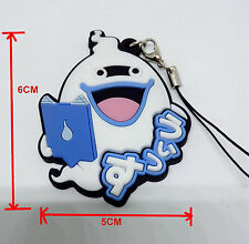 Yo-Kai Watch Yokai Youkai WHISPER Cosplay Rubber Keychain Phone Strap Charm