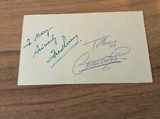 SPORTING AUTOGRAPHS ON PAGE FRED PERRY TENNIS , PLUS GOLF & CRICKET