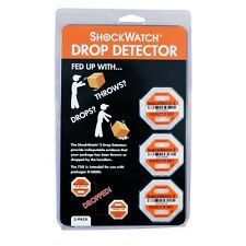 New listing New Sealed ShockWatch 2 Drop Detectors 3 Pack Up to 50 Lbs 75G Fragile Packages