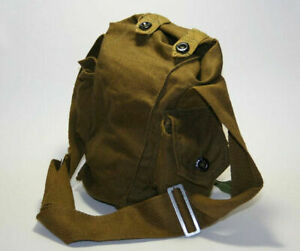 Beach Soviet Russian Gp-5 Gas Mask Canvas Bag Military Army Indiana Jones, 2pcs