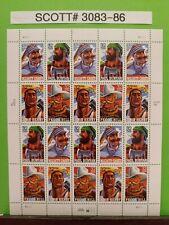 Scott # 3083-86 - Folk Heroes - Sheet of (20) 32 Cent Stamps