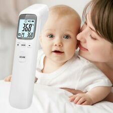 Non-Contact Infrared Thermometer Gun LCD Digital Forehead Fever Adult fR