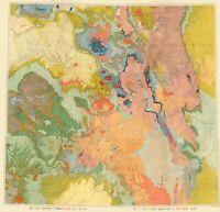 Topo Map - Colorado North West Utah Economic Sheet - USGS 1881 - 23.00 x 23.86