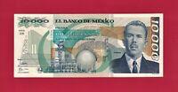 Mexico UNC 10,000 Pesos (May 16, 1991) Note (P-90d.1) Depicting Gen. L. Cardenas