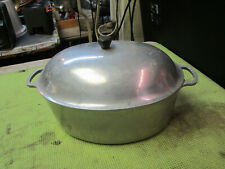 New ListingVintage ? Qt Majestic Cookware Aluminum Metal Pot with Lid Stock Pot Dutch Oven