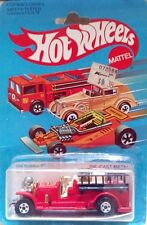 Hot Wheels 1982 - OLD NUMBER 5 - VINTAGE 1965.Fire Engine Truck  USA
