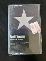 Neil Young - Hawks & Doves Cassette Tape *NEW (b)