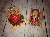 Vintage 1950's Mid Century MCM Antique Christmas Card Lot