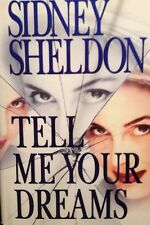 💫 Tell Me Your Dreams Sidney Sheldon HardBack Book True First 1st Edition VF 🌟