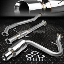 "For 05-10 Scion Tc Vvti 2Az 4"" Rolled Muffler Tip Racing Catback Exhaust System"