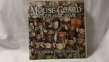 Mouse Guard Roleplaying Game HC/DJ Luke Crane & David Petersen