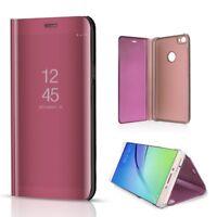For Xiaomi Redmi Note 5A Prime Smart View Mirror Leather Flip Stand Case Cover