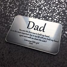 father of the bride gift mother of the bride grandad son up the aisle thank you