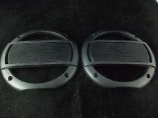 "New MTX Terminator 6.25"" Black Speaker Grills Pair"