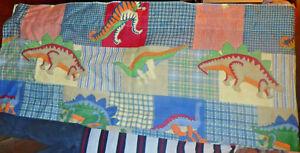 "Whisper Soft Mills Dinosaurs 2 Valence Set 80""x17"""