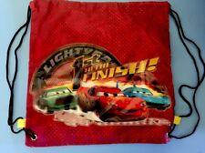 Kids Children Boys Car Sports waterproof School Draw String Shoes Backpack Bag