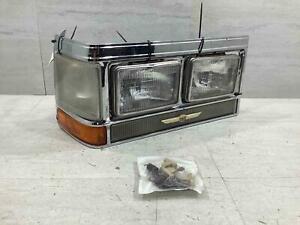 80-89 Cadillac Fleetwood Brougham RH Passenger Headlight (No Filler)