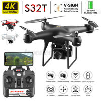 HD 4K 1080P Camera S32T RC Drone Quadcopter WIFI Quadcopter 4 Channels 2.4G ❤️