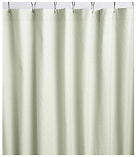 NEW Noble Excellence Fabric Shower Curtain Green Celadon