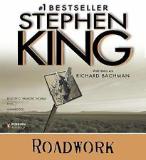 Roadwork by Richard Bachman and Stephen King (2010, CD, Unabridged)