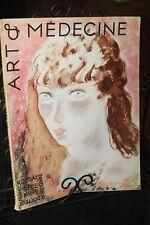 ART ET MEDECINE - Décembre 1934 - Poèmes - Odic Kintzel - L. Hervieu - Giraudoux