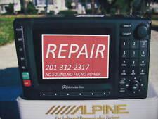 REPAIR MERCEDES BENZ RADIO,MCS COMAND,COMMAND,GPS,NAVIGATION ML500,ML350,ML320