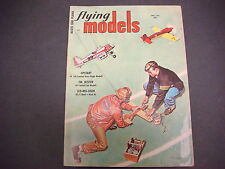 Flying Models Magazine,April 1956,Upstart,FM Jetster,Slo-Mo-Shun, R/C Planes