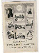 2724- Palermo Congresso Eucaristico non vg