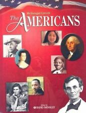 McDougal Littell The Americans: Student Edition Grades 9-12 2003, MCDOUGAL LITTE