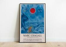 Marc Chagall Exhibition Poster