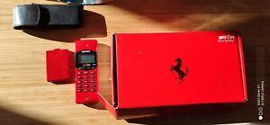 Telefono Cellulare FERRARI GSM HAGENUK + CUSTODIA RARE VINTAGE BRICK PHONE TIM