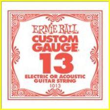 ERNIE BALL Corda 1013 - Plain 013 Per Acustica/Elettrica - Conf. 6 pezzi