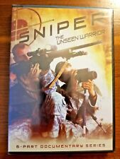 SNIPER: THE UNSEEN WARRIOR (6 PART DOCUMENTARY SERIES) 2 DVD SET NEW & SEAL