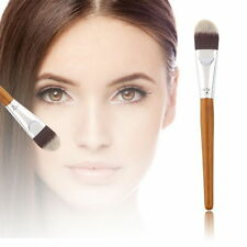 Good Quality BI Bamboo Handle Soft Makeup Cosmetic Facial Concealer Powder Brush